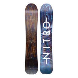 Snowboard Nitro Woodcarver