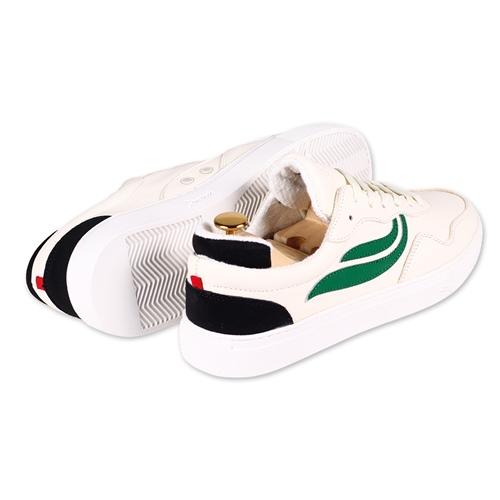 Sneaker Genesis G-Soley (Wht/Gre/Blk)