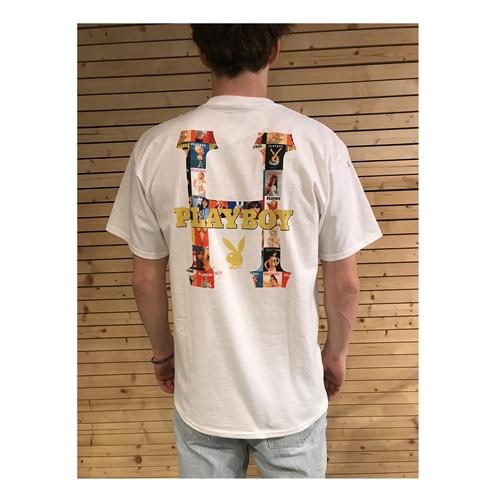 HUF Playboy Classic H (White) – T-Shirt