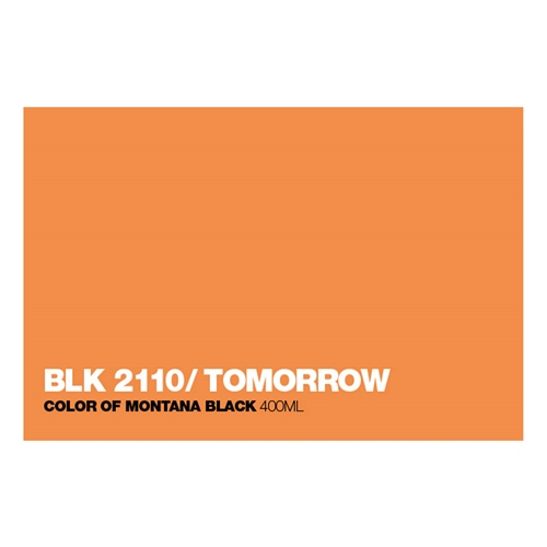 Graffiti Sprühdose BLK2110 Tomorrow