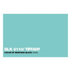 Graffiti Sprühdose BLK6110 Tiffany