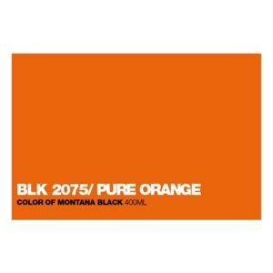 Graffiti Sprühdose BLK2075 Pure Orange