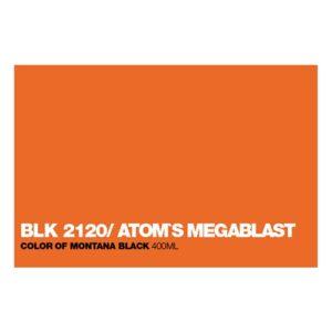 Graffiti Sprühdose BLK2120 Atom's Megabl