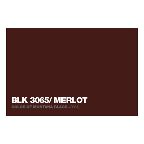 Graffiti Sprühdose BLK3065 Merlot