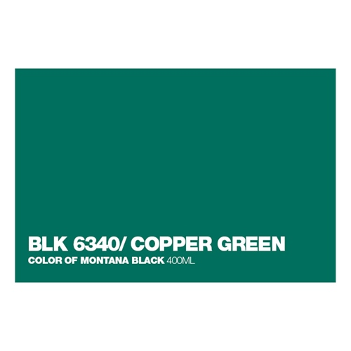 Graffiti Sprühdose BLK6340 Copper Green