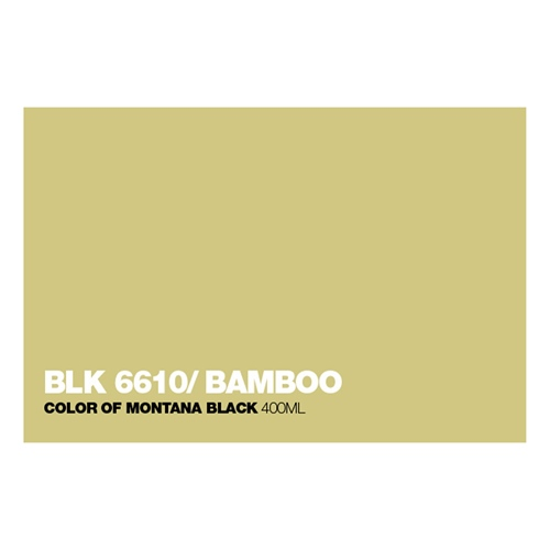 Graffiti Sprühdose BLK6610 Bamboo
