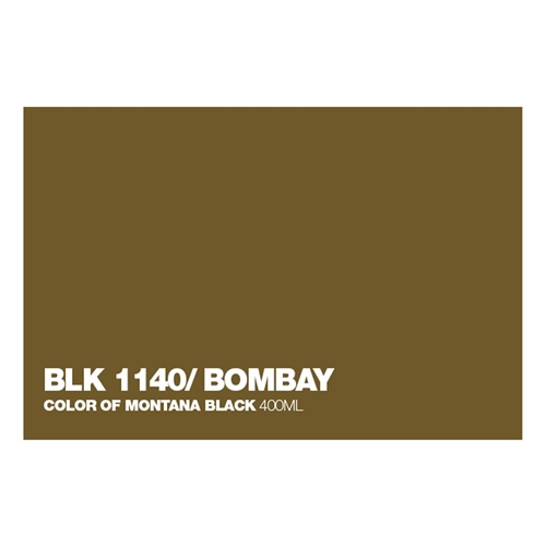 Graffiti Sprühdose BLK1140 Bombay
