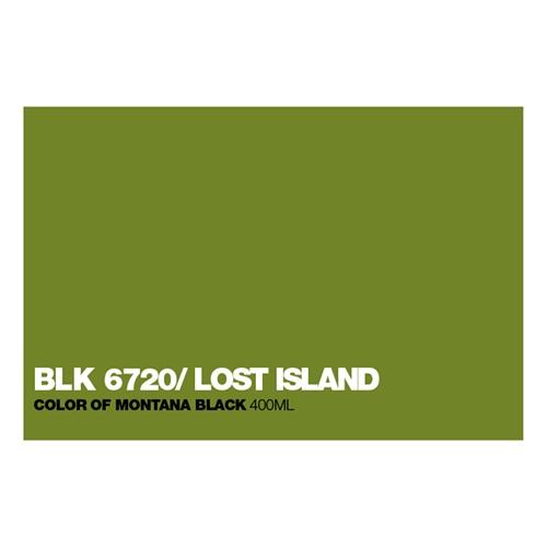 Graffiti Sprühdose BLK6720 Lost Island