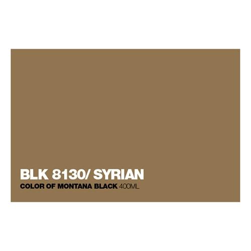 Graffiti Sprühdose BLK8130 Syrian