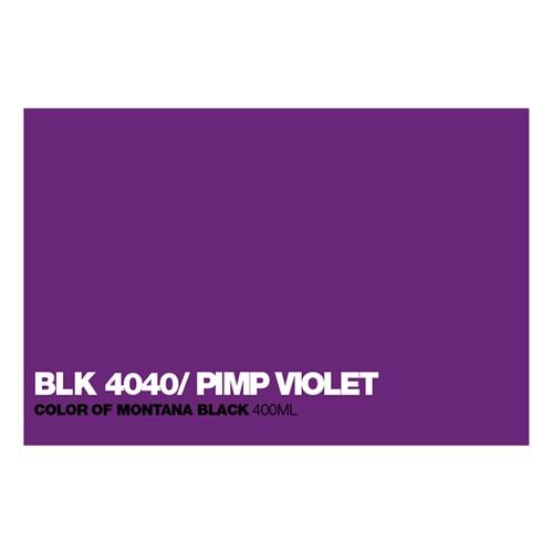 Graffiti Sprühdose BLK4040 Pimp Violett
