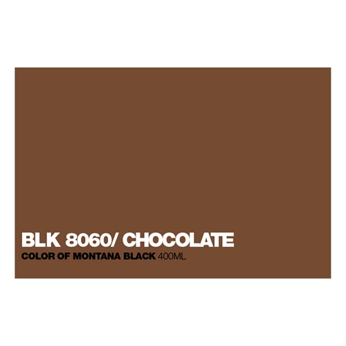 Graffiti Sprühdose BLK8060 Chocolate