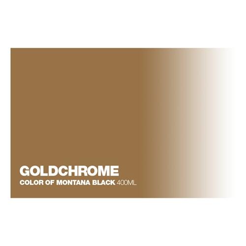 Graffiti Sprühdose Goldchrome