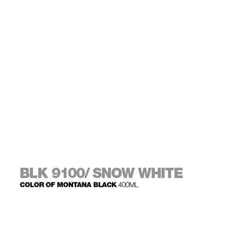 Graffiti Sprühdose BLK9100 Snow White