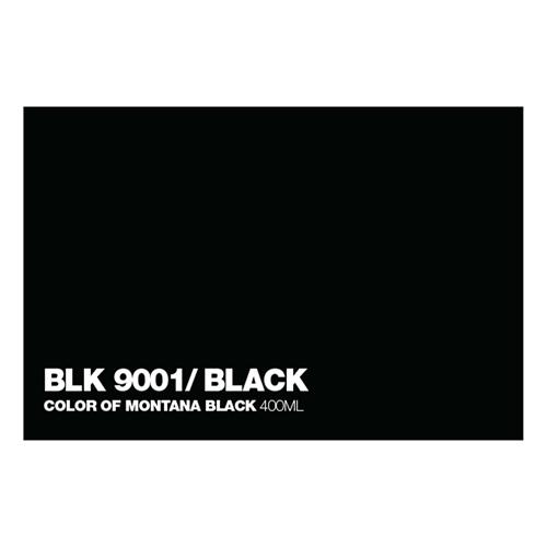 Graffiti Sprühdose BLK9001 Black