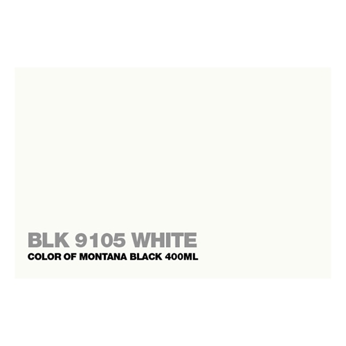 Graffiti Sprühdose BLK9105 White