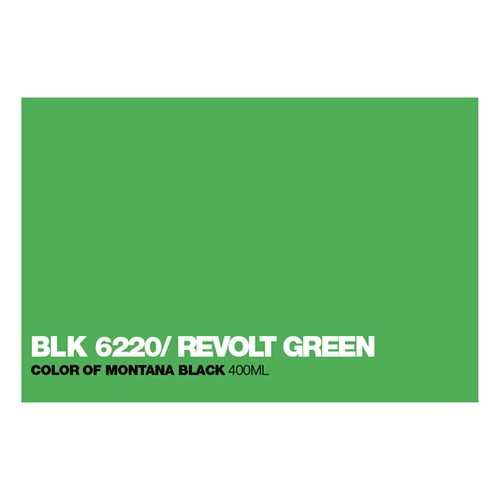 Graffiti Sprühdose BLK6220 Revolt Green