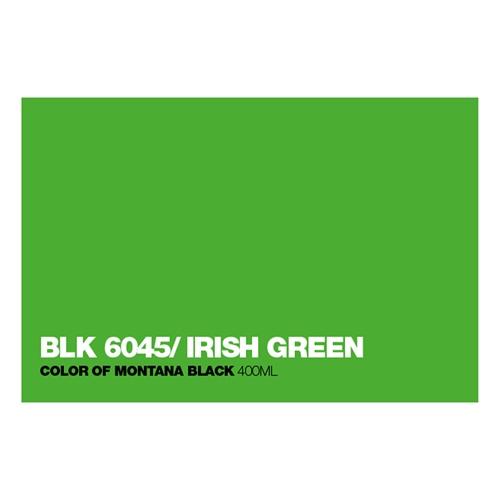 Graffiti Sprühdose BLK6045 Irish Green