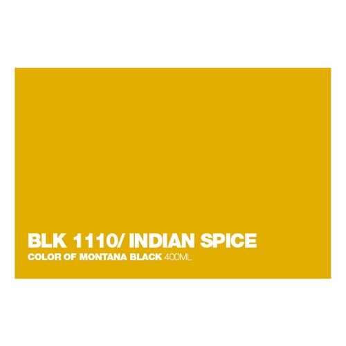 Graffiti Sprühdose BLK1110 Indian Spice