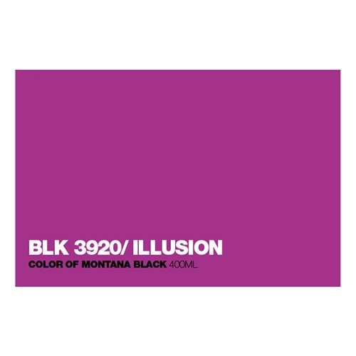 Graffiti Sprühdose BLK3920 Illusion