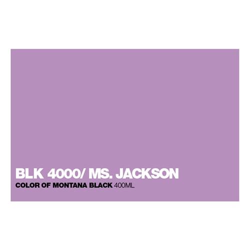 Graffiti Sprühdose BLK4000 Ms.Jackson