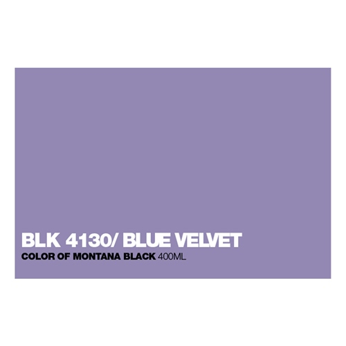 Graffiti Sprühdose BLK4130 Blue Velvet