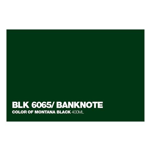 Graffiti Sprühdose BLK6065 Banknote