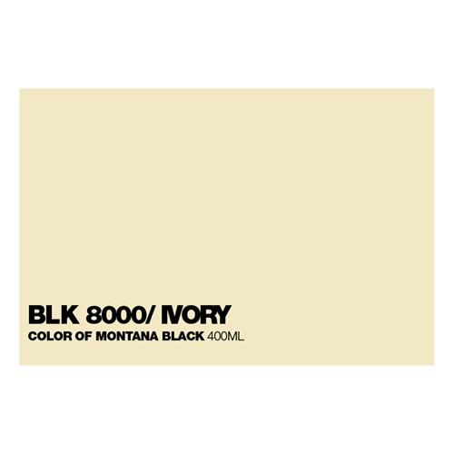 Graffiti Sprühdose BLK8000 Ivory