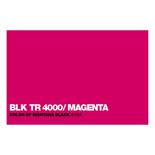 Graffiti Sprühdose BLKTR4000 True Magent
