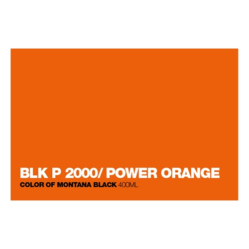 Graffiti Sprühdose P2000 Power Orange