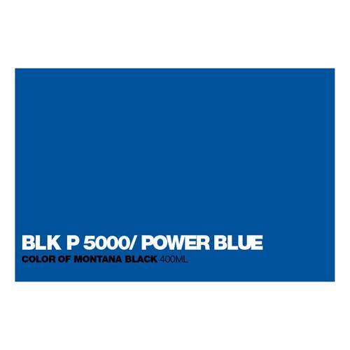 Graffiti Sprühdose P5000 Power Blue