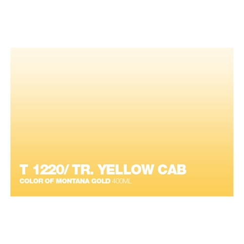 Graffiti Sprühdose T1220 Yellow Cab