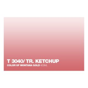 Graffiti Sprühdose T3040 Ketchup