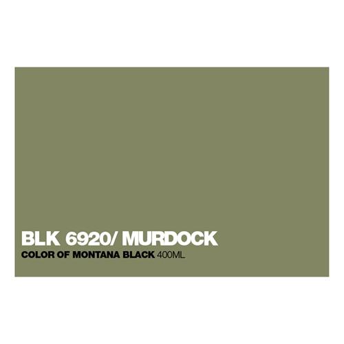 Graffiti Sprühdose BLK6920 Murdock