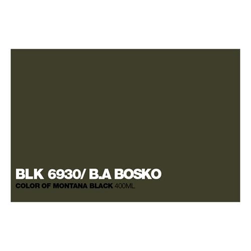 Graffiti Sprühdose BLK6930 B.A.Bosko