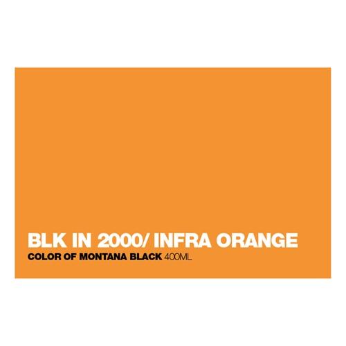 Graffiti Sprühdose BLKIN2000Inf.Orange