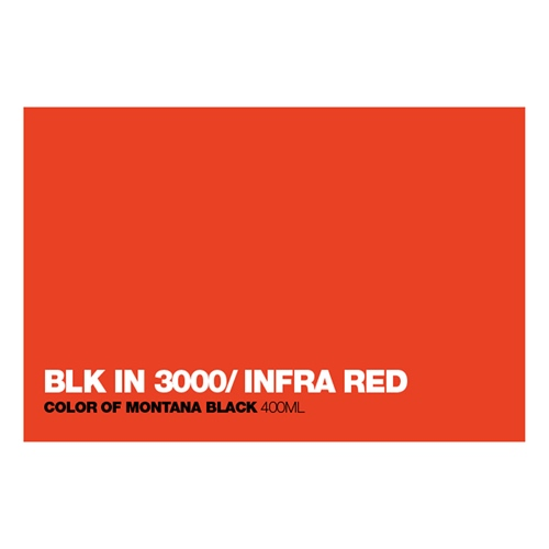 Graffiti Sprühdose BLKIN3000 Inf.Red