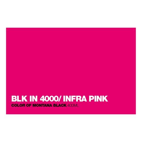 Graffiti Sprühdose BLKIN4000 Inf.Pink