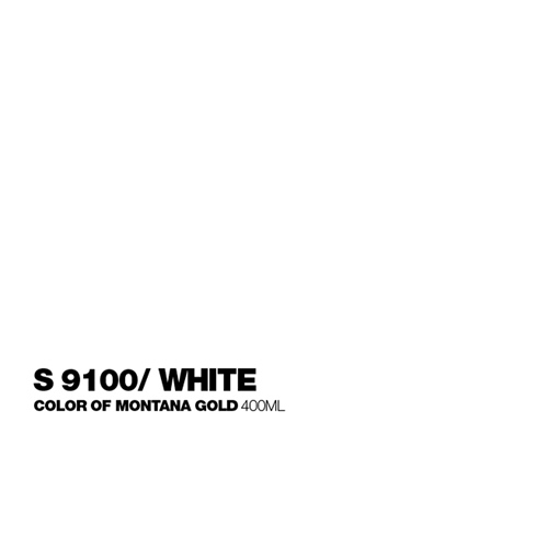 Graffiti Sprühdose GLDS9100 White