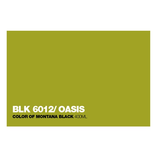 Graffiti Sprühdose BLK6012 Oasis