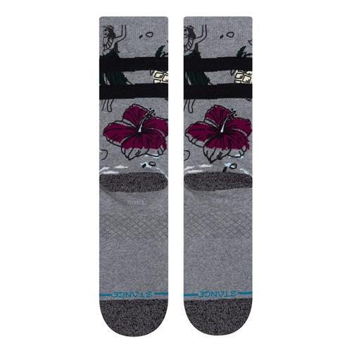 Socke Stance Haunted Hula (Grey)