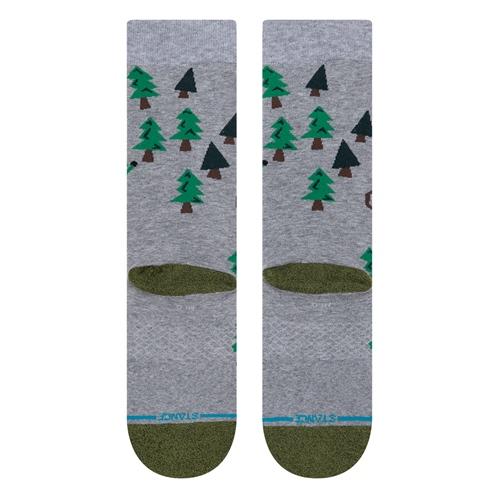 Socke Stance Rollin with my Gnom. (Grey)