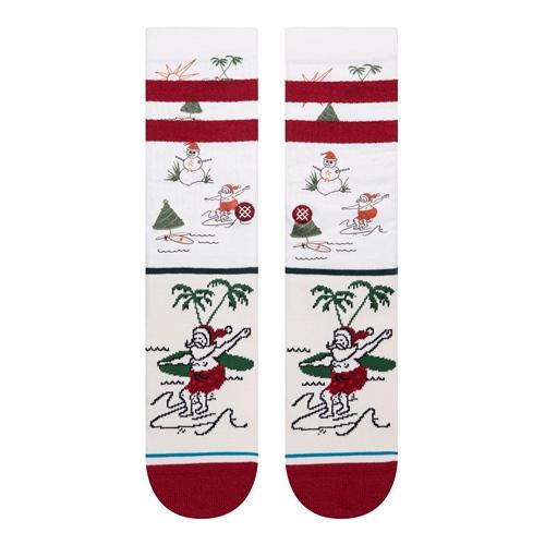 Socke Stance Santas Day Off (White)