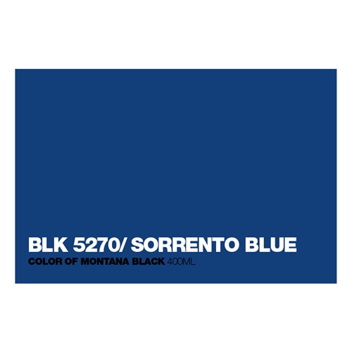 Graffiti Sprühdose BLK5270 Sorrento Blue