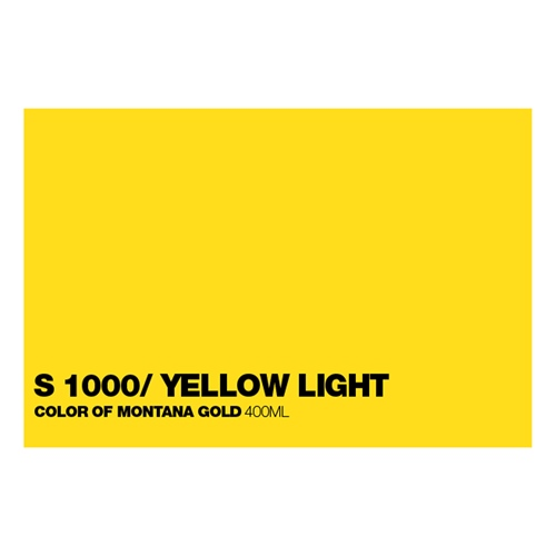 Graffiti Sprühdose GLDS1000 S.Yellow Lig