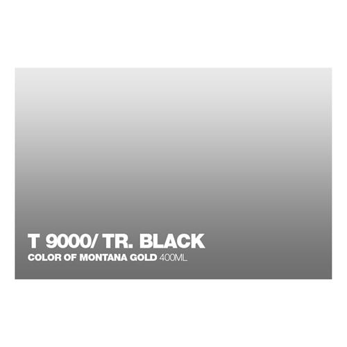 Graffiti Sprühdose T9000 Black