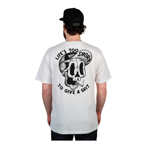 Dudes Too Short Smokes (white) – T-Shirt