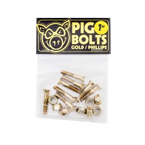 Pig Mounting-Kits 1″ Kreuz – Bolts