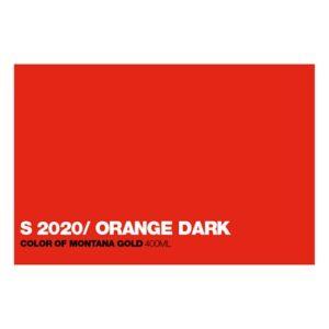 Graffiti Sprühdose GLDS2020 S.Orange Dar
