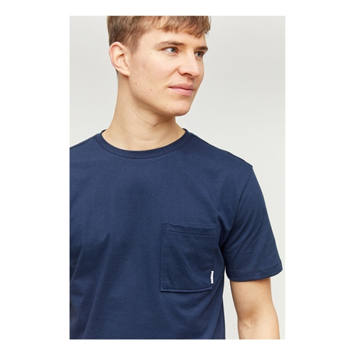 Mazine Burwood Pocket (navy) – T-Shirt