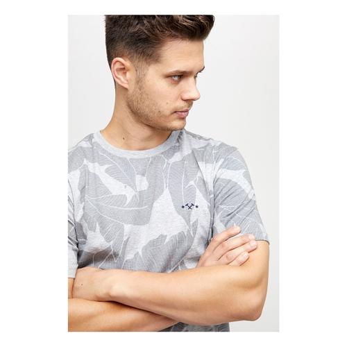 Mazine Findon Allover (grey) – T-Shirt